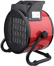 EAHKGmh Calentador portátil Industrial de Alta Potencia 3000W Calentador eléctrico Espacio for Oficina Taller Granja soplador de Aire Caliente 3 Archivos Ajustable