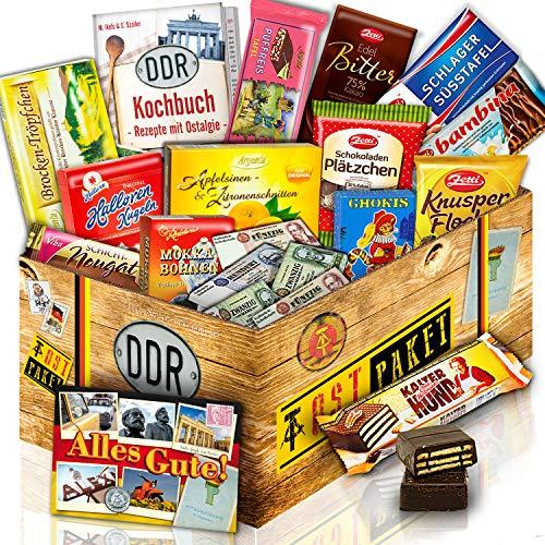 Schokoladen Paket DDR / Schoko Geschenk / Geschenk Idee für Sie Geburtstag