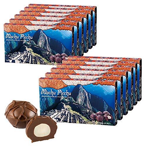 マチュピチュ マカデミアナッツ チョコレート12箱セット【ペルー お土産 輸入食品 スイーツ】