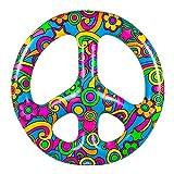 Flotador aro anillo inflable símbolo amor y paz marca BIGMOUTH