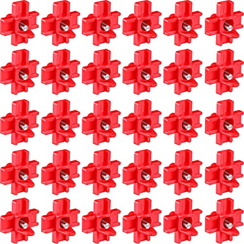 30 Pieces Horizontal Chicken Nipples Waterer Automatic Poultry Nipples Horizontal Side Mount Chicken Drinkers for Chicken Ducks Quail and Other Poultry