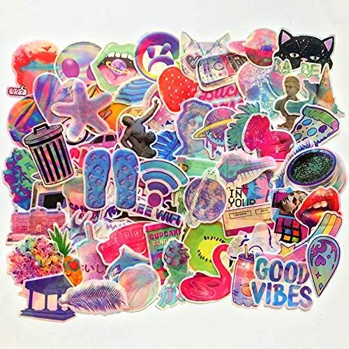 ZHAOHU Cartoon Fantasia Adesivi Colorati Colorati Bagagli Leva Valigia Valigia Laptop Telefono Graffiti Adesivi