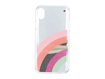 Kate Spade New York Glitter Rainbow Phone Case For iPhone XR (Multi) Cell Phone Case