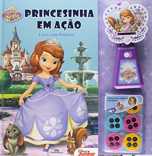 Princesinha Sofia: Princesinha em Ação – Livro com projetor