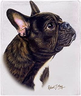 CafePress-French Bulldog-Soft Fleece Throw Blanket