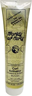 Worlds of Curls Gel Activator Extra Dry Tube, 6 Ounce