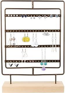 wooden jewellery display stands
