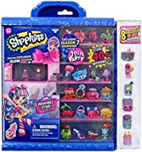 Shopkins Season 7 Join the Party Collector's Case with 8 Exclusive Glow Shopkins