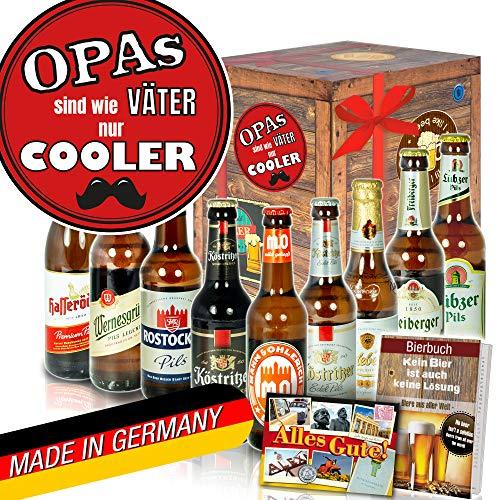 Opas sind wie Väter nur cooler - Geschenke für Opa - Ostdeutsche Biere