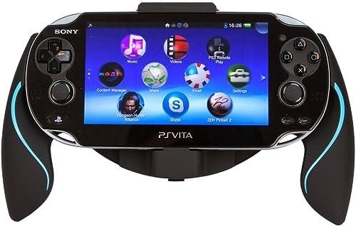 Link-e  - Supporto ergonomico joystick nero / blu per console Sony PS Vita 1000