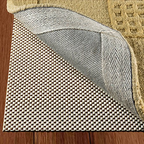DoubleCheck Products Non Slip Rug Pad Size 2 x10 for Runner Rugs On Hardwood Floors Extra Strong Grip Thick Padding and