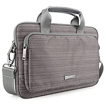 Evecase Classic Padded Briefcase Messenger Bag