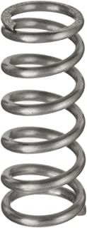 Inch 4.41 lbs//in Spring Rate 2.308 Compressed Length Compression Spring Pack of 10 12 lbs Load Capacity 5 Free Length 1.225 OD 0.085 Wire Size 302 Stainless Steel
