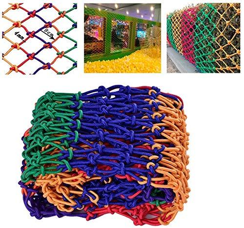 AI LI WEI Protective net decoratie/veiligheidsnet kinderen trappen veiligheidsnet nylon net handgeweven mesh-bescherming net kindertuin kleur decoratie net ladder Shatter vaste net buitenbouwisolatie net