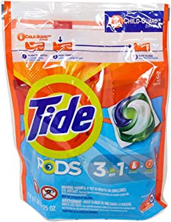Tide PODS, Laundry Detergent Liquid Pacs, Clean Breeze, 31 Count - Packaging May Vary
