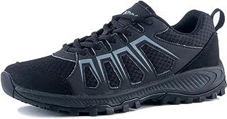 riemot Men's Women's Summer Hiking Shoes Non Slip Trail Running Sneakers Indoor Outdoor Sport Fitness Walking Shoe