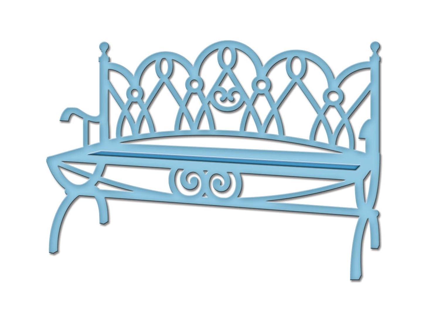 Spellbinders S2-085 Shapeabilities Die D-Lites, Garden Bench