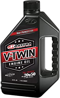 Maxima Racing Oils 30-11901 20w50 V-Twin Full Synthetic Engine Oil - 32 fl. oz.