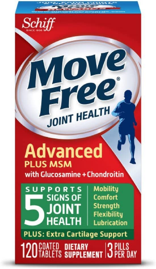 Move Free Advanced Plus MSM 120 Suppleme Joint Max 50% Sales results No. 1 OFF - tablets Health