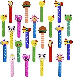 805067cf7f 30 Animali Segnalibro Legno Coloratissimi Regalo Festa Gadget Pensierino  Compleanno per Bambini