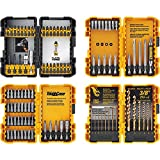 DEWALT Screwdriver Bit Set / Drill Bit Set, 100-Piece (DWA2FTS100),Black/Grey/Yellow Screwdrivi…