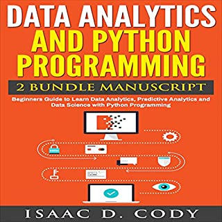 Data Analytics and Python Programming: 2 Bundle Manuscript audiobook cover art