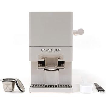 Capsulier Machine997 Coffee Machine, 9.5 x 7.8 x 5.6 inches, stainless steel