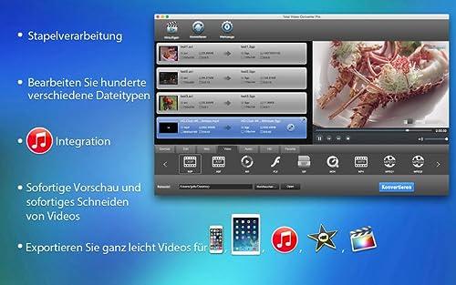 Total Video Converter Pro ist ein vollständiger und funktionsreicher Video-Werkzeugkasten, mit dem Sie Videos konvertieren, trimmen, bearbeiten, brennen, verbessern und anschauen können. [Download]