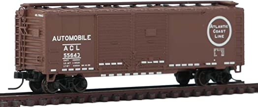 Atlas N Scale 40' Double-Door Boxcar Atlantic Coast Line/ACL Automobile #55643
