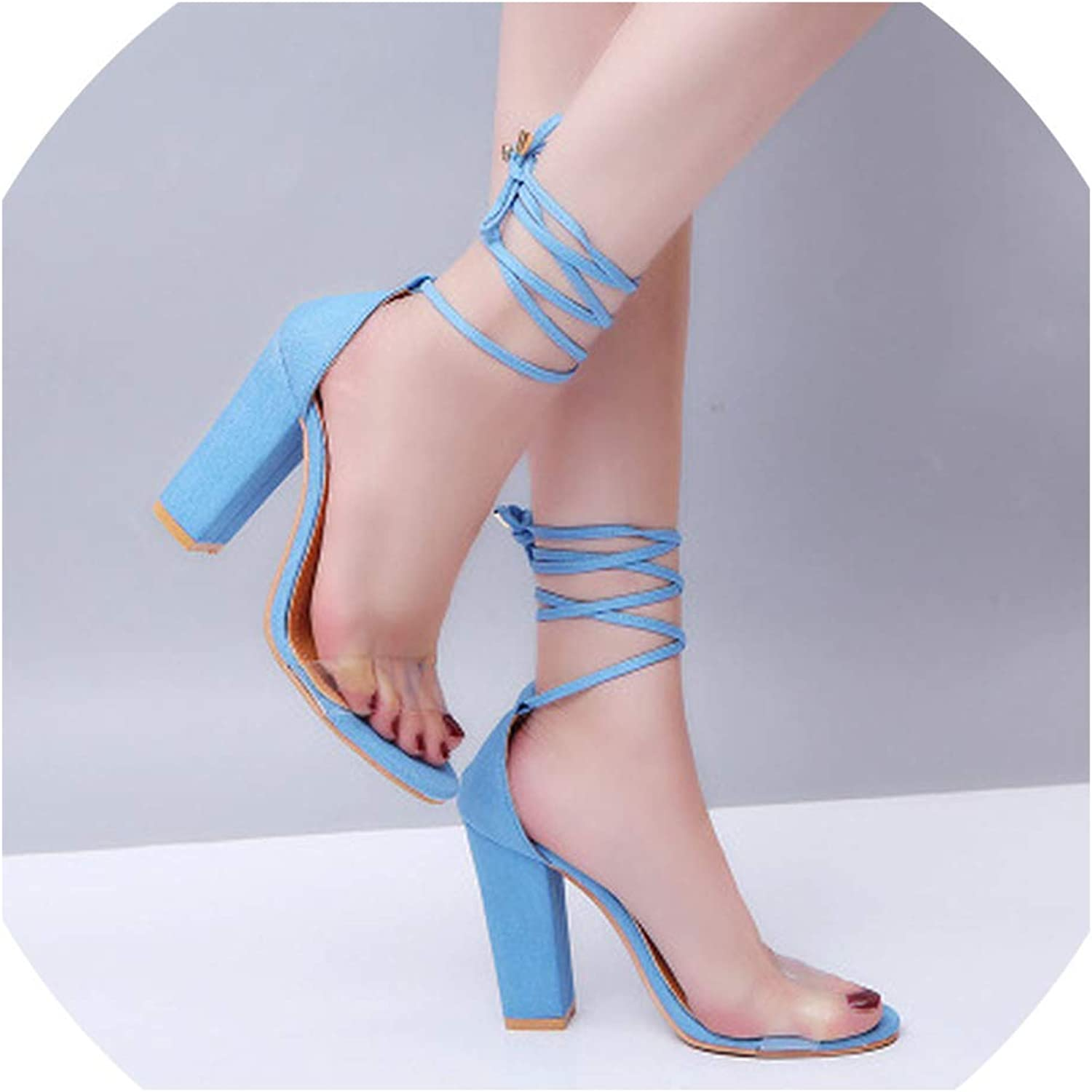 Boom-moon Rope Retro Sexy Open Toe Fish Mouth Sandals high Heel Women's shoes