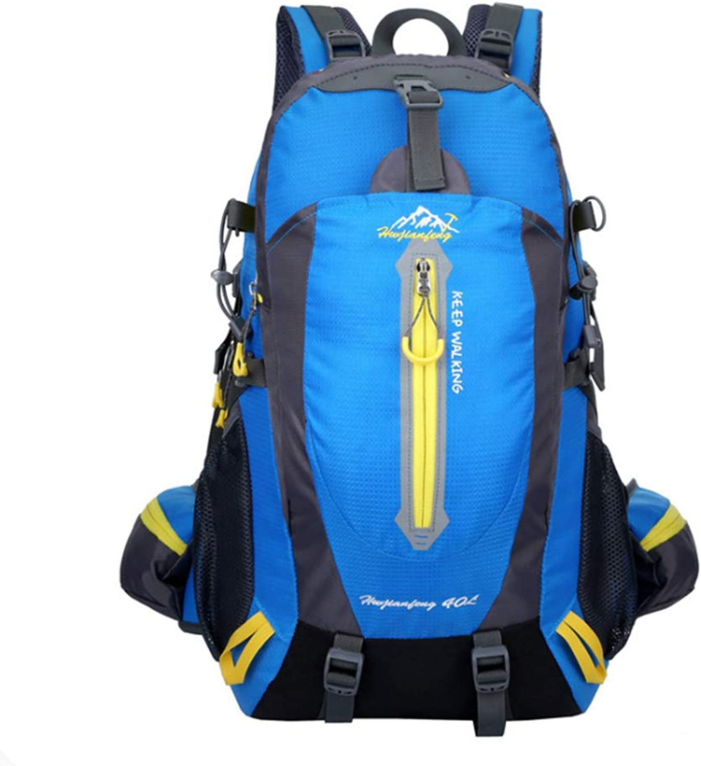YuXi 40L Ultra Lightweight Waterproof Collapsible Backpack, Travel Hiking Camping Large Backpack