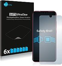 Savvies Pellicola Protettiva Compatibile con Xiaomi Redmi Note 7/7 PRO / 7S Protezione Schermo [6 Pezzi]