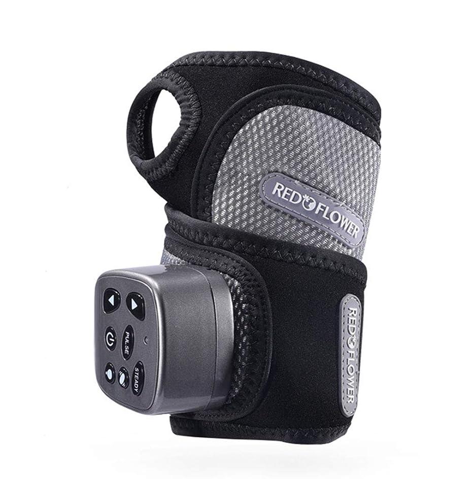 万一に備えて病公園手首関節の痛みや疲労を和らげるためのハンドマッサージ器、混練、振動、熱処理、電気指リハビリテーション装置。