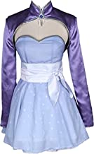 Weiss Schnee Cosplay Costume RWBY 4 White Dress Battle Uniform Halloween Carnival Costume Full Set