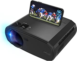 WEWATCH Portable 5G WiFi Projector, Real 1080P Full HD...