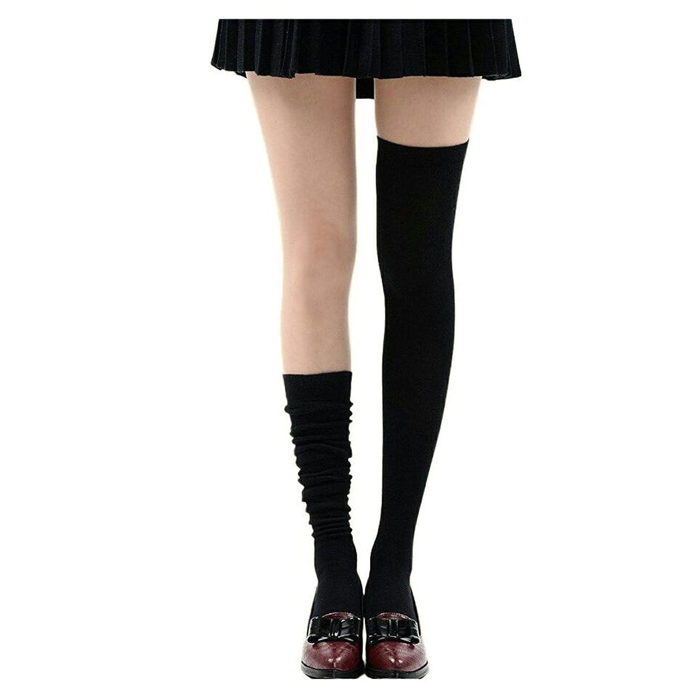 リネン法律により夜Manu20 トップ弾力性 女子高生の靴下 サイハイソックス スッキリ 美脚 着圧オーバーニーソックス