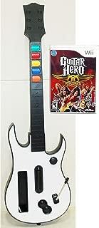Nintendo Wii / Wii-U GUITAR HERO Controller + Aerosmith Video Game bundle set play rock music band