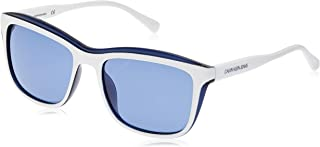 Calvin Klein Women's Sunglasses Rectangular Chroma - White