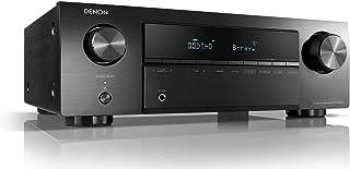 Denon AVRX250BT 5.1 Channel 4K Ultra HD AV Receiver with Built-in Bluetooth - Black