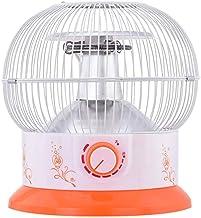 XHHWZB Calentador de la jaula de pájaros Asar estufa pequeño sol de ahorro de energía del hogar Pequeño asar fuego Calentador eléctrico Calentador eléctrico Horno de sobremesa de fibra de carbono domé