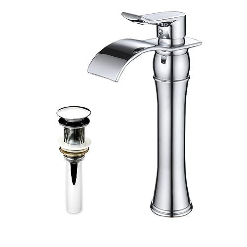 Excellent Vessel Sink Waterfall Faucets Amazon Com Interior Design Ideas Helimdqseriescom
