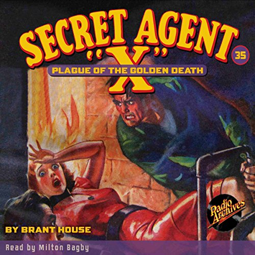 "Secret Agent ""X"" #35 audiobook cover art"
