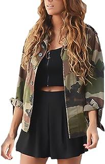the best attitude b97ce 3f1c1 Amazon.it: giacca militare donna: Abbigliamento
