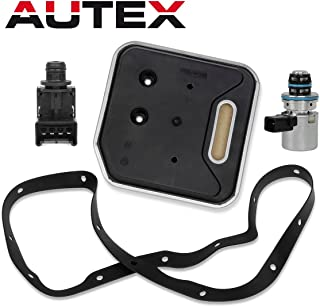 AUTEX A500 46RE Transmission Governor Pressure EPC Solenoid Filter Kit 4617210 56041403AA Compatible With Jeep/Dodge Dakota & Durango & Ram & Van 2000 up