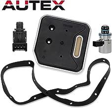 AUTEX A500 42RE 44RE Transmission Governor Pressure EPC Solenoid Filter Kit 4617210 56041403AA Compatible With Jeep/Dodge Dakota & Durango & Ram & Van 2000 up