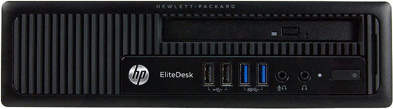 HP EliteDesk 800 G1-USFF, Intel Core i5-4590S 3.0GHz, 4GB RAM, 500GB Hard Drive, DVD,Windows 10 Pro 64Bit (Renewed)