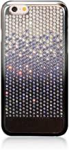 Bling-My-Thing Case for Apple iPhone 6 - Retail Packaging - Metallic Gradient Black/Crystal Paradise Shine
