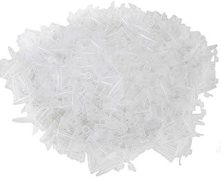 0,5 ml tube /à essai Bingpong Lot de 1 000 tubes de centrifugeuse en plastique transparent 0,5 ml avec bouchon pour laboratoire