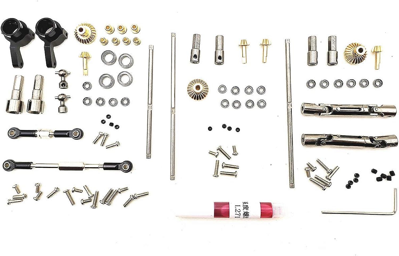 Amyove Accessori di RC Auto Upgrade Metal OP Accessori giocattolo per 1 16 WPL B14 B16 B24 C14 C24 B36 RC auto Albero di azionamento OP+a trazione integrale