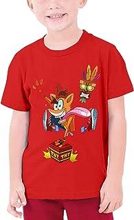 Maichenxuan Cr-as-h Ban-dic-oot - Camisetas de manga corta para niños adolescentes